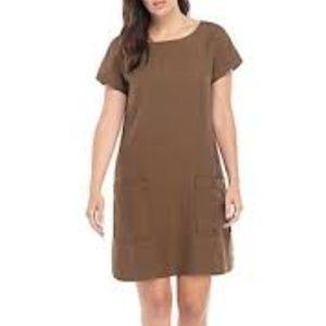 Boat-Neck Tencellinen Dress
